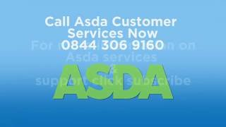 Asda Phone Number | 0844 306 9160