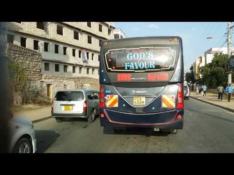 Timelapse video of drive from Shanzu to Mombasa, Kenya