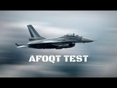 Taking the AFOQT (part 2)