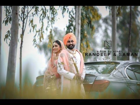 Randeep & Saman   Best Sikh Wedding    nindi studios  