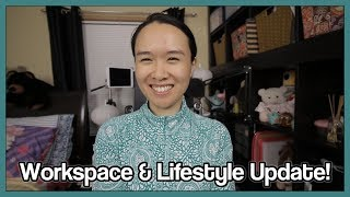 Workspace & Lifestyle Update! | Online Flute Teacher & YouTuber