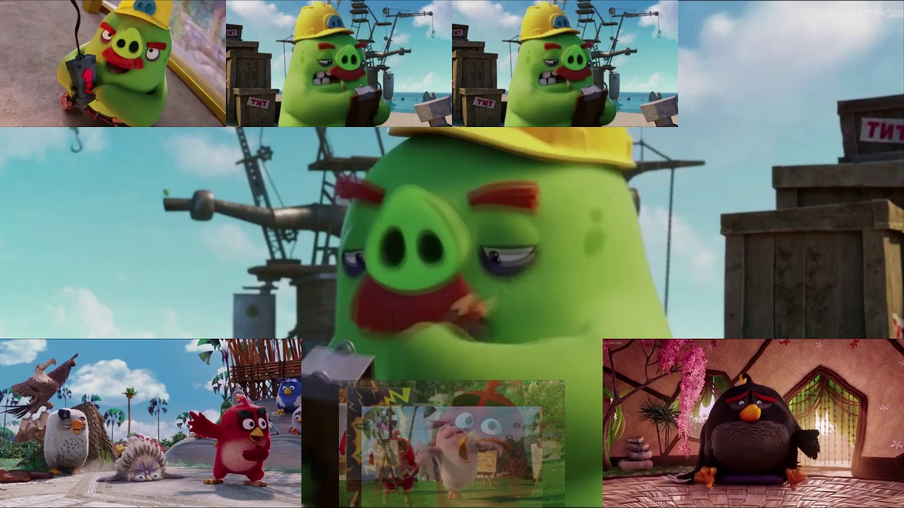 {Angry Birds The Movie} Foreman Pig Has A Sparta Quest For