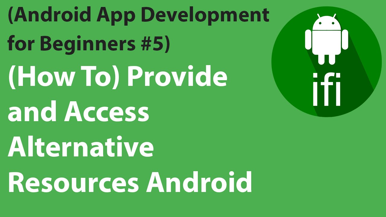 App resources overview | Android Developers