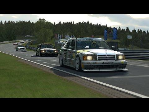 R3E - DTM 1992 & Touring Classics - Nordschleife - Multiplayer |