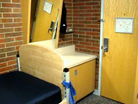 My dorm room in Laramie