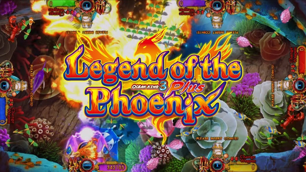 IGS Ocean King 3 Plus: Legend of the Phoenix - Gameplay