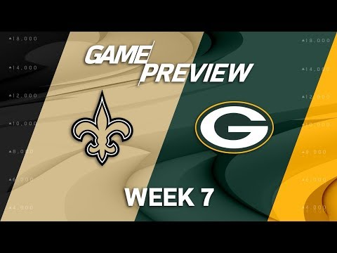 New Orleans Saints vs. Green Bay Packers | Week  Game Preview | NFL Playbook