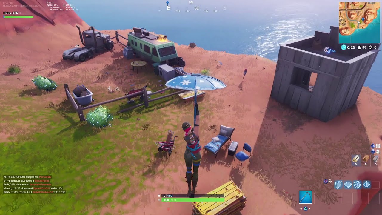 Launch Fireworks All 3 Fireworks Locations Fortnite Week 4