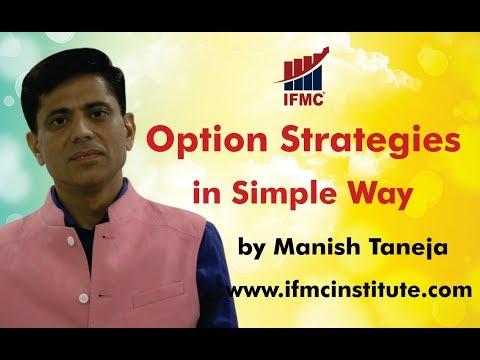 Option Strategies by Senior Analyst  Manish Taneja ll Options  strategies in simple way ll
