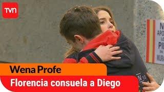 ¿Florencia consuela a Diego?  | Wena Profe