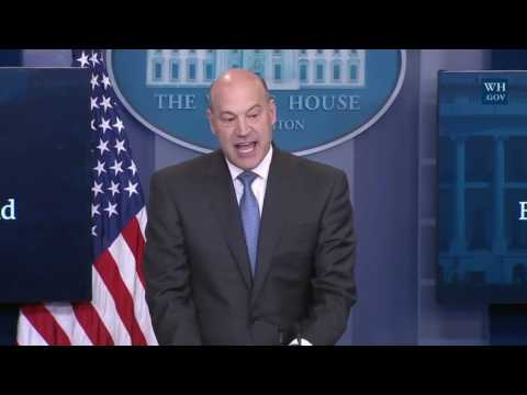 Gary Cohn on Donald Trump NEW TAX REFORM PLAN Press Conference Briefing Steven Mnuchin Spicer1
