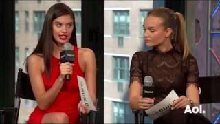 Victoria's Secret 2016 - Sara Sampaio & Josephine Skriver Interview on Victoria's