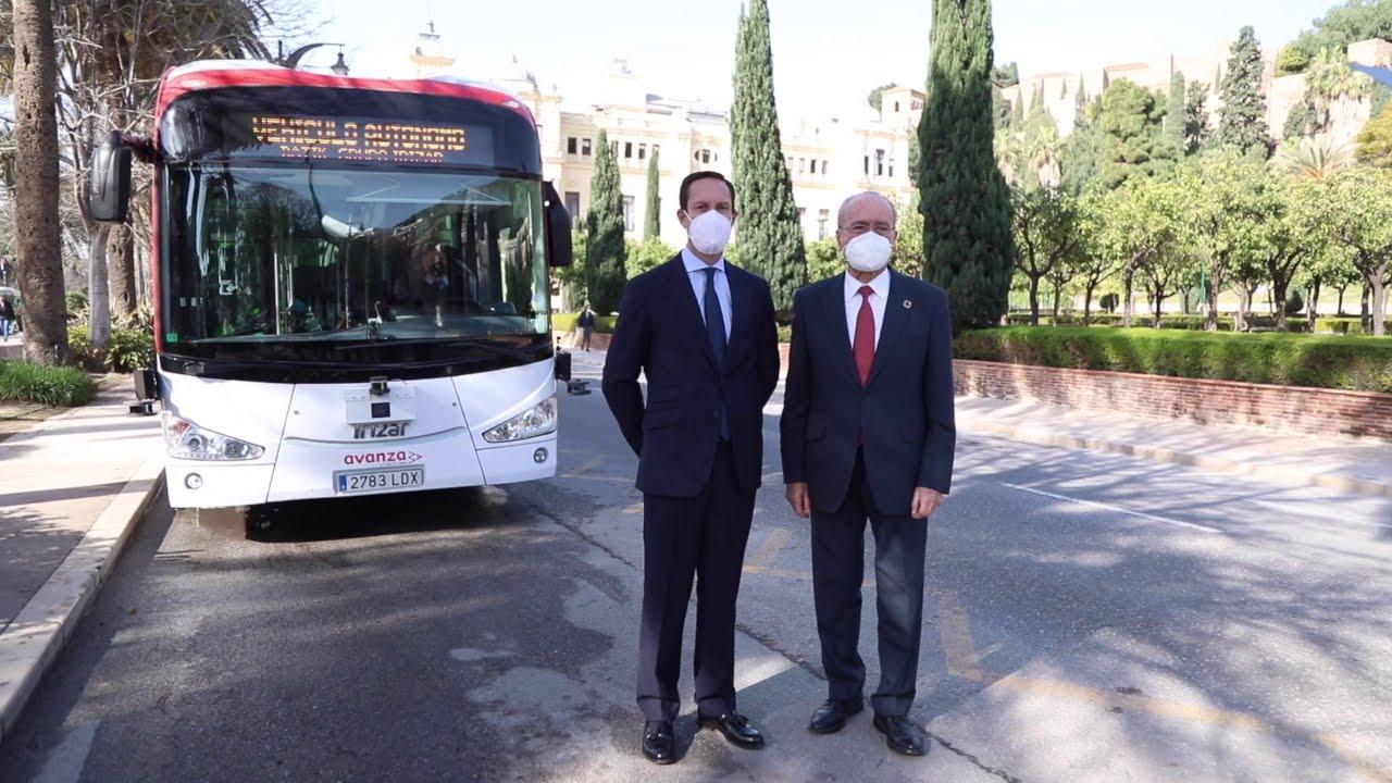 Málaga: Autobusi bez vozača i električni autobusi koji se pune iz ceste