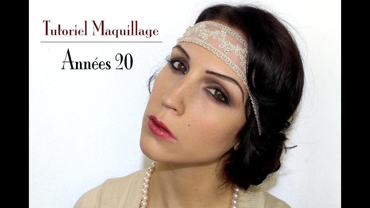 Maquillage femme annees folles for Coupe cheveux burlesque