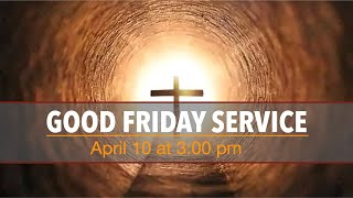 IEC Finland - Good Friday Service, 10/04/2020 at 3pm