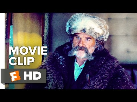 The Hateful Eight Movie CLIP - You All Saved Me (2015) - Bruce Dern Movie HD