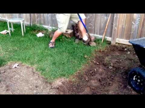 How to remove sod by hand, the easy way