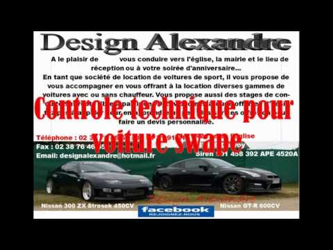 controle technique pour voiture swap youtube. Black Bedroom Furniture Sets. Home Design Ideas