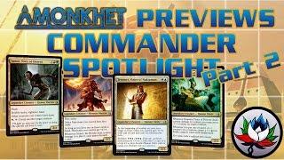 MTG – Amonkhet EDH/Commander Deck Tech Spotlight: Hapatra, Neheb, Samut, and Temmet!