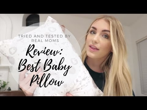 Best Baby Pillow For Newborns, Toddlers and Kids – Perfect For Nursery, Nap time or Preschool