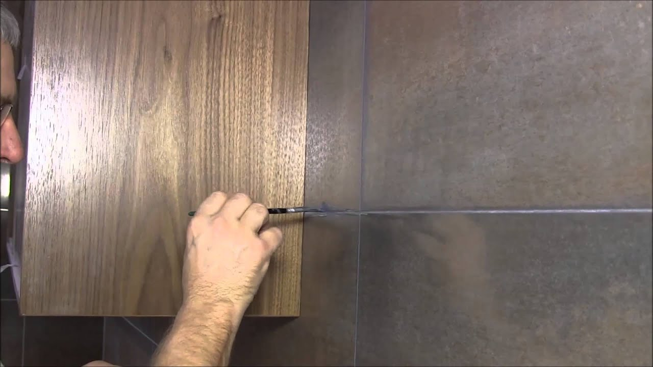 How to easily change grout color - YouTube