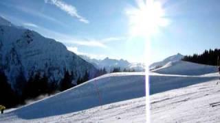Snowpark LES HOUCHES chamonix mont blanc , snowboard , ride , freeride