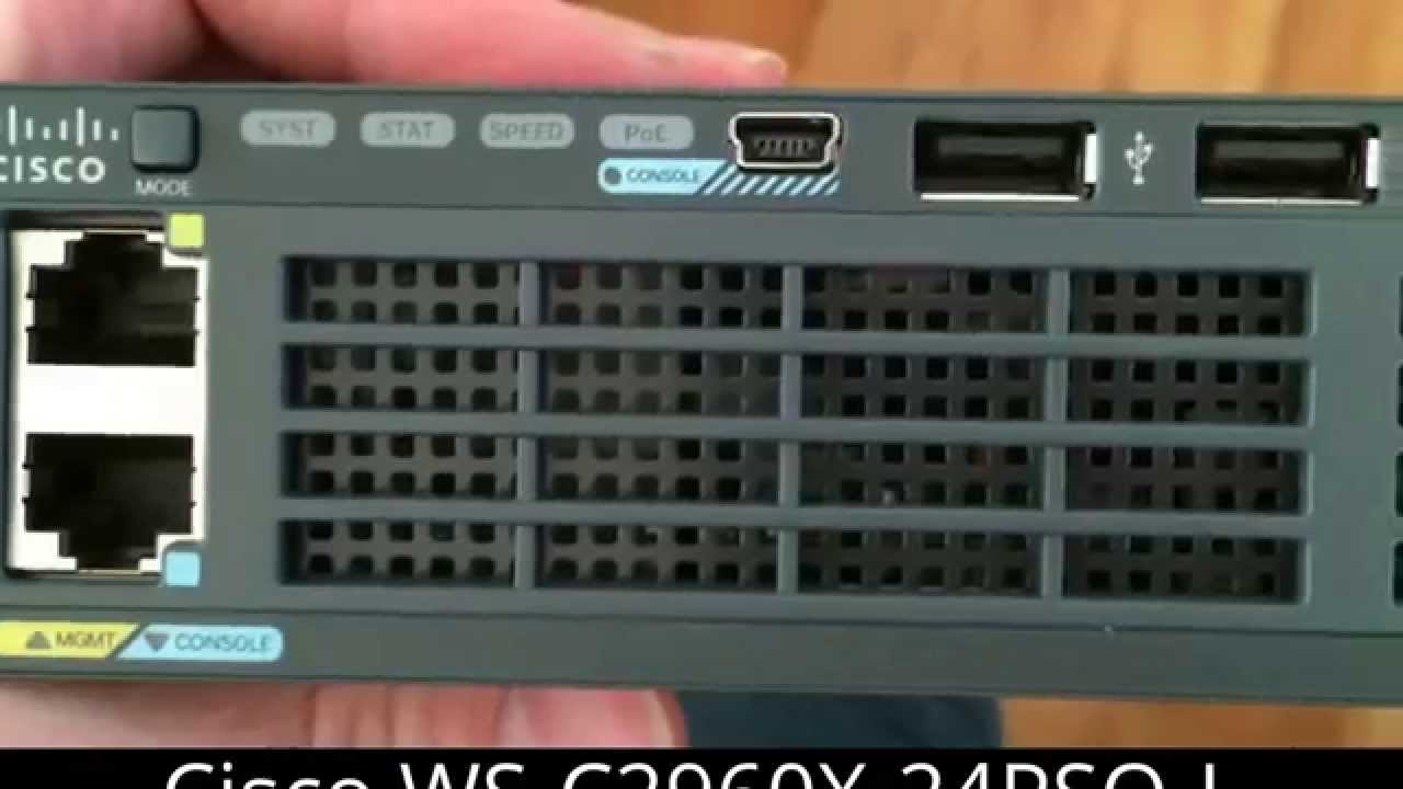 Opening The Cisco Cool Switch WS-C2960X-24PSQ-L