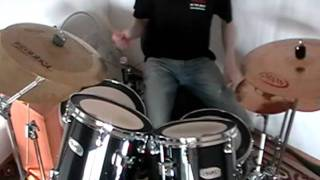 Gamma Ray - Heading for Tomorrow (drum cover)