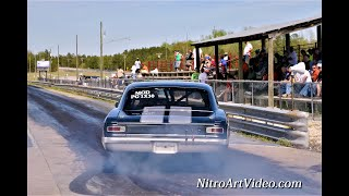 Pageland Dragstrip Grudge Racing NT Raw Drag Racing Action 4-13-2013