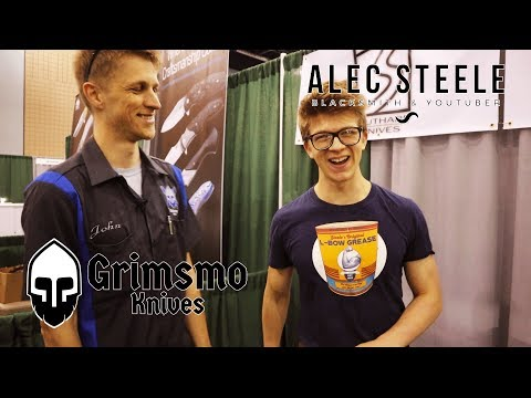 BLADE 2018 w/ ALEC STEELE and more awesome makers!