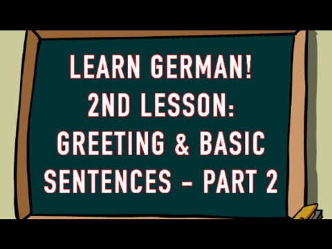 Learn german greetings basic sentences part 2 youtube learn german greetings basic sentences part 2 m4hsunfo Image collections