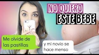 BROMA CON LETRA DE CANCION A ROSY MCMICHAEL - NO QUIERO A ESTE BEBE
