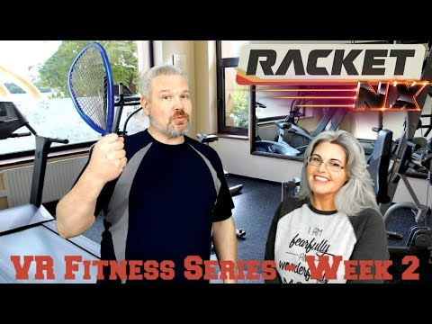 VR Fitness Series Week 2 - Racket: NX