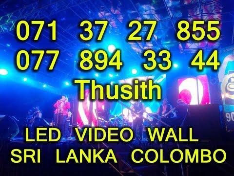 LED VIDEO screen COLOMBO SRI LANKA 071 37 27 855
