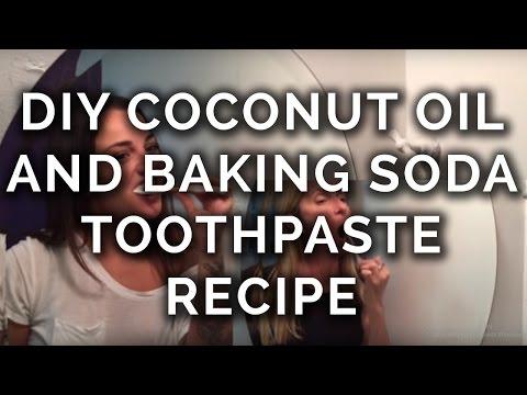 DIY Coconut Oil and Baking Soda Toothpaste Recipe