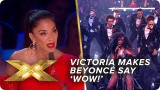 Victoria gives a performance that would make Beyoncé say 'WOW'    Live Week 2   X Factor: Celebrity