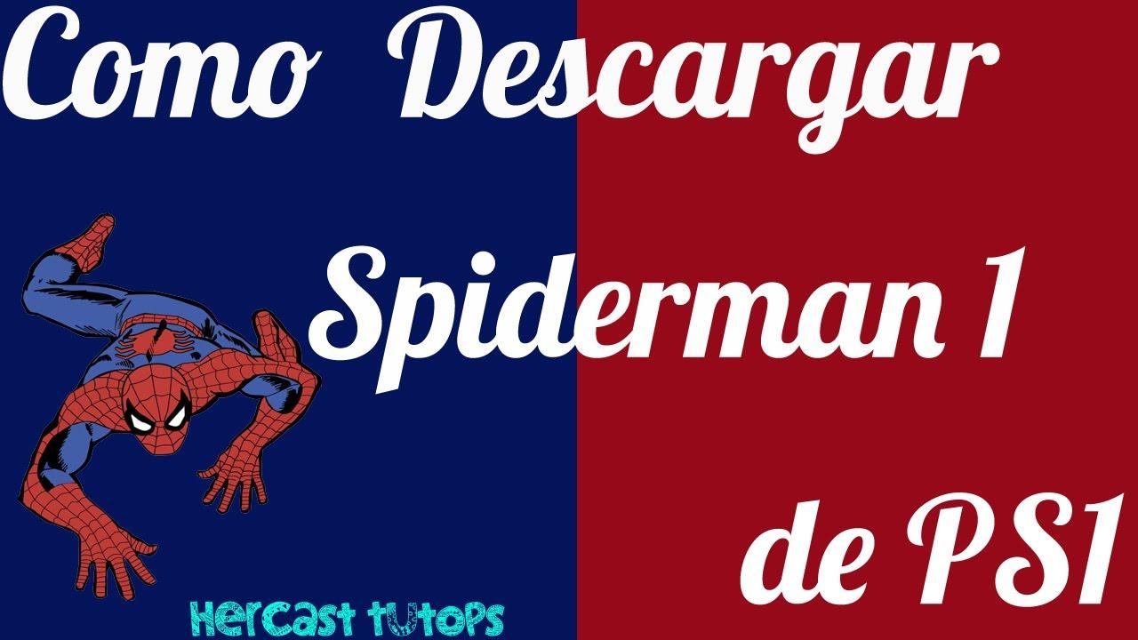descargar spiderman psx para pc 1 link
