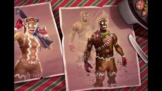 FORTNITE BURNT GINGERBREAD SKIN |*BURNT* Merry Marauder Gameplay FORTNIE