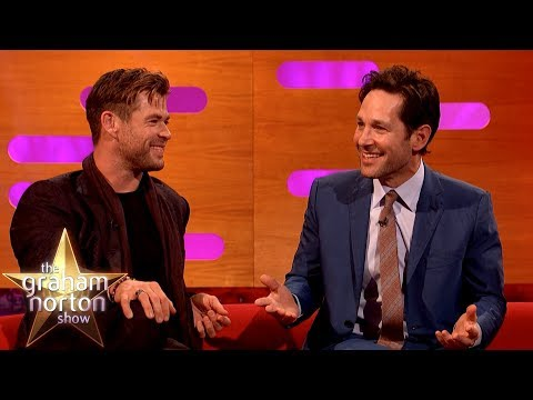 Paul Rudd Jumped Out Of A Moving Car To Impress His Date?!   The Graham Norton Show