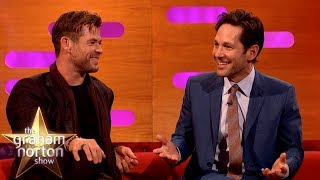Paul Rudd Jumped Out Of A Moving Car To Impress His Date?! | The Graham Norton Show