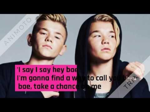 Marcus & Martinus - Bae lyrics