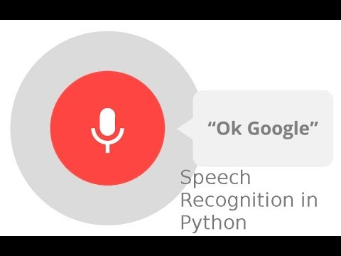 Speech recognition in python | Voice command | voice to text conversion | PyAudio