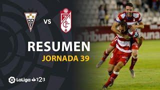 Resumen de Albacete BP vs Granada CF (0-1)