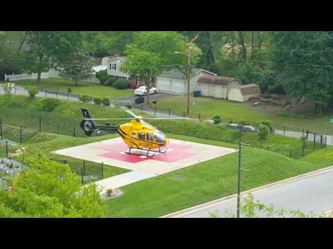 Helicopter departs Charles Regional Medical Center - La Plata, Maryland