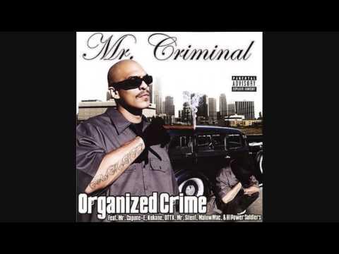 Mr Criminal - When I Die