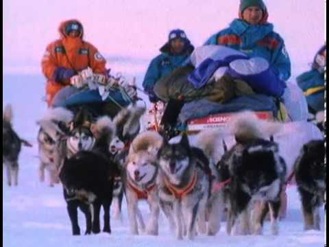 1989-90 International Trans-Antarctica Expedition B-Roll
