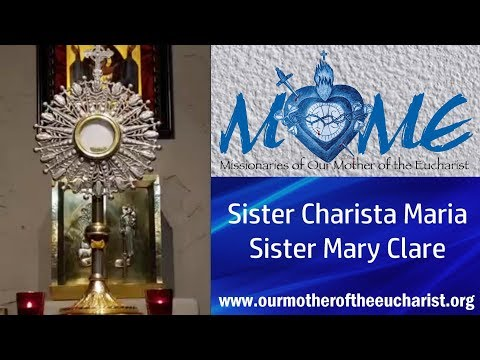Rosary Cenacle and Adoration with the Sisters of MOME | Thu, Jul 2, 2020