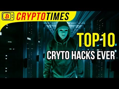 ☠️ Top 10 Cryptocurrency Hacks ☠️