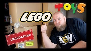 Amazon Customer Returns Toys & LEGO Pallet Purchased for $1,543 + HUGE LEGO SCORE AGAIN!!