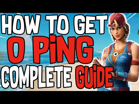 Complete Guide On How To Get 0 Ping In Fortnite! (PC And Console/Lower Ping/Less Lag)
